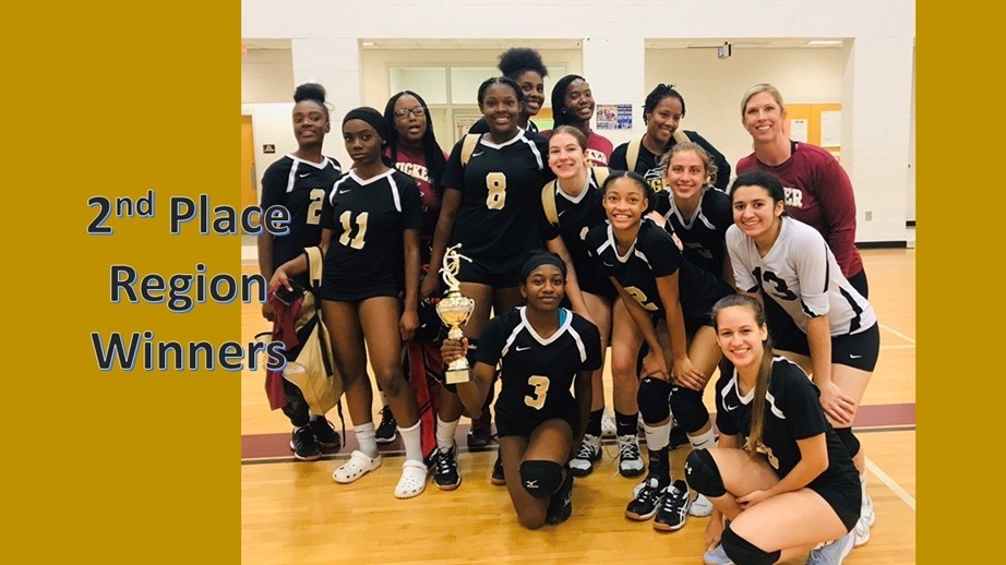 Volleyball 2nd Place Region Champs